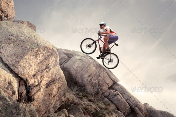Extreme ride - Stock Photo - Images