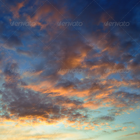 sunset - Stock Photo - Images