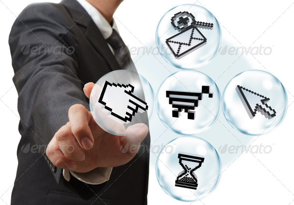 Internet Concept  - Stock Photo - Images