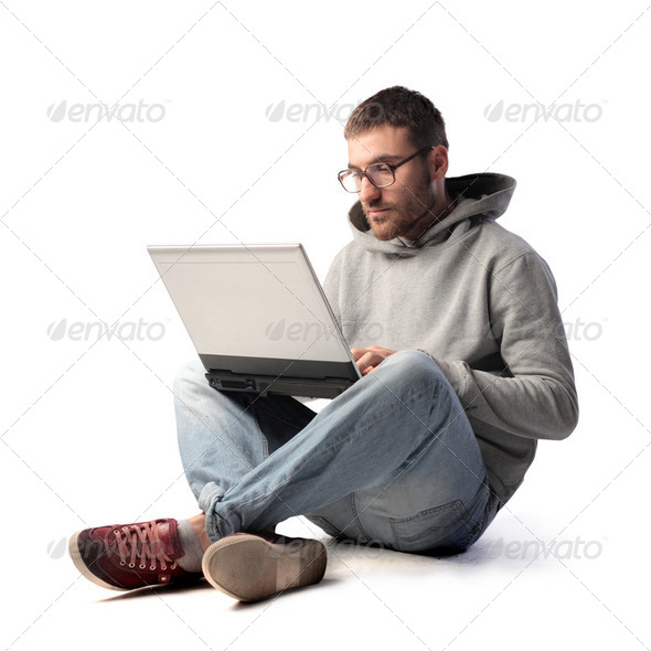 Wi-fi connection - Stock Photo - Images