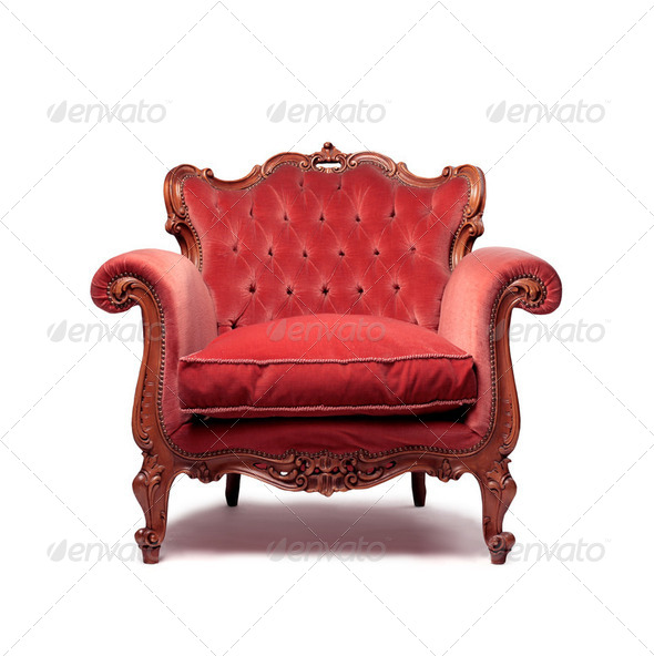Vintage furniture - Stock Photo - Images