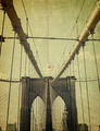 Brooklyn Bridge. Old style image - PhotoDune Item for Sale
