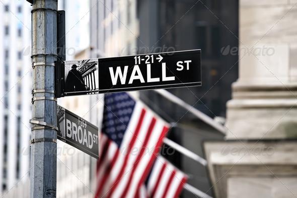 PhotoDune Wall street 2362742
