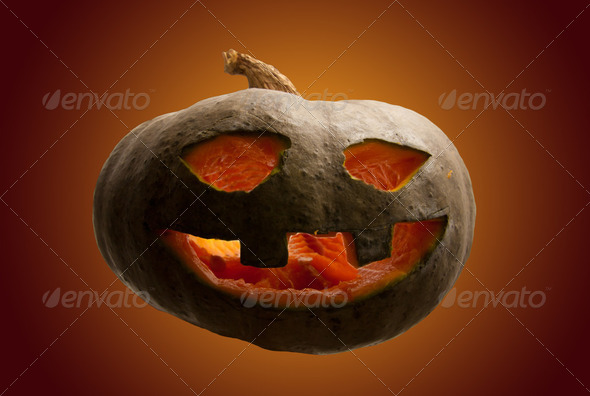 Halloween pumpkin - Stock Photo - Images