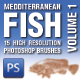 15 Mediterranean Fish Brushes Volume 1 - GraphicRiver Item for Sale