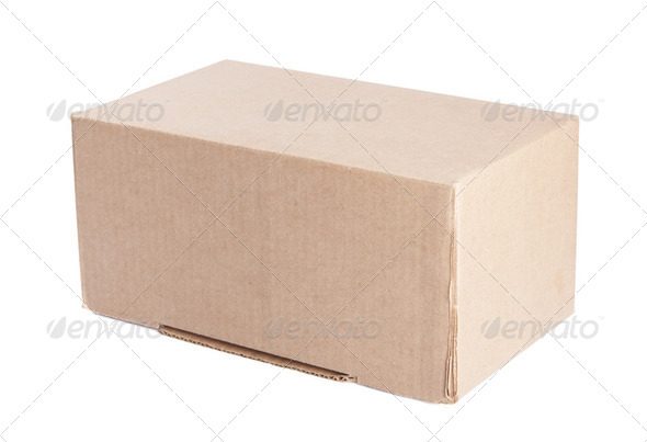 Carboard Box - Stock Photo - Images