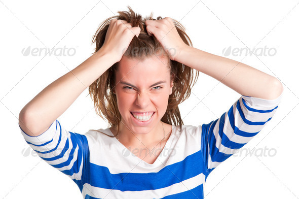 Angry Woman - Stock Photo - Images