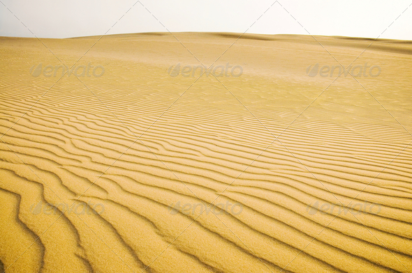 Sand dunes - Stock Photo - Images