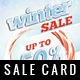 Winter Sale Card - GraphicRiver Item for Sale
