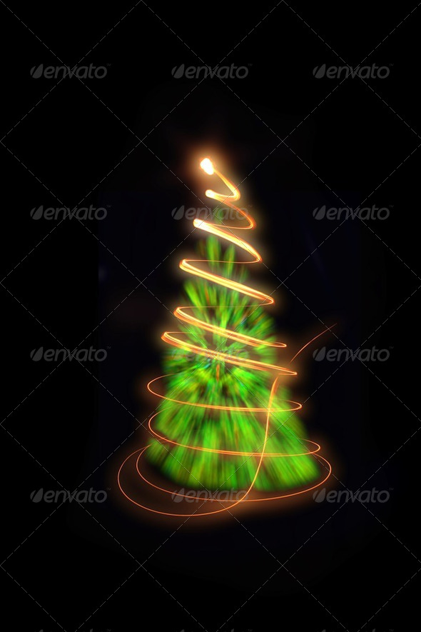 xmas tree - Stock Photo - Images