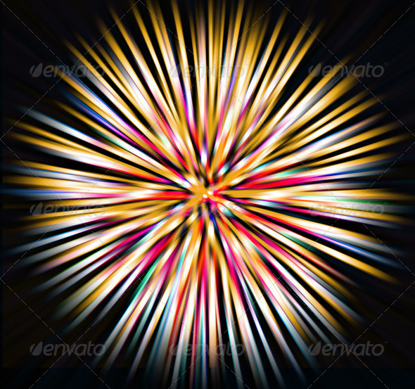 abstract explosion background - Stock Photo - Images