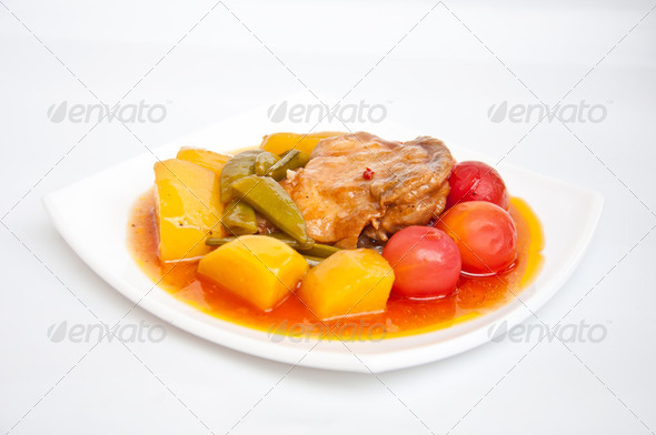 Chicken stew - Stock Photo - Images