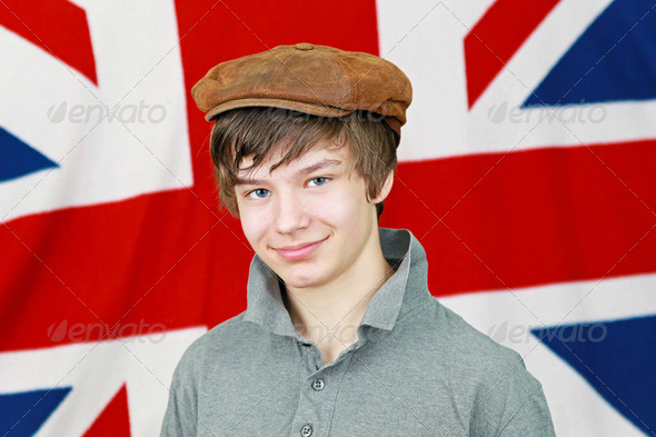 British boy - Stock Photo - Images