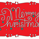 Merry christmas hand lettering - GraphicRiver Item for Sale