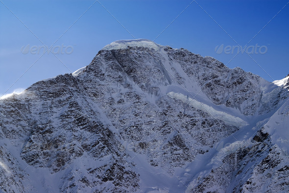 Mount Donguzoruns - Stock Photo - Images