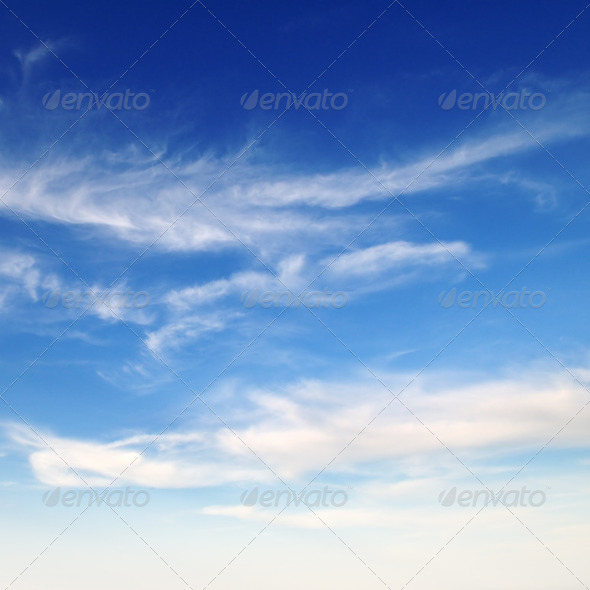 blue sky - Stock Photo - Images