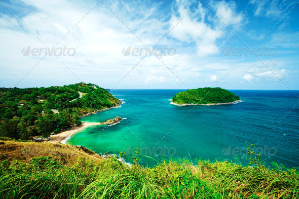 Tropical seascape - Stock Photo - Images