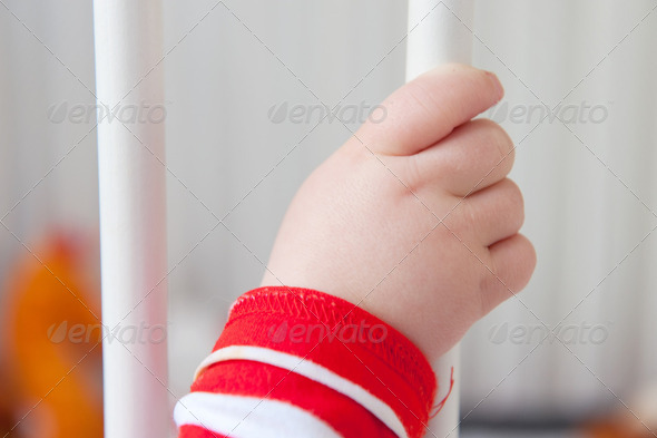 baby hand - Stock Photo - Images