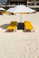 Lounge Chairs with Umbrella - PhotoDune Item for Sale