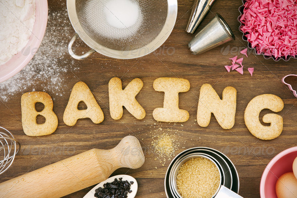Baking cookies - Stock Photo - Images