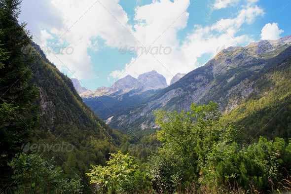 Julian Alps - Stock Photo - Images