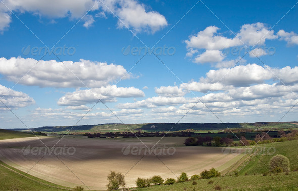 English Countryside - Stock Photo - Images