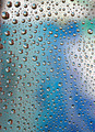 Water drops on transparent glass - PhotoDune Item for Sale