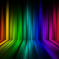 Rainbow Colorful stage Pattern Background - PhotoDune Item for Sale