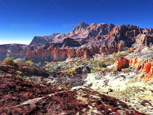 Awesome canyon - Stock Photo - Images