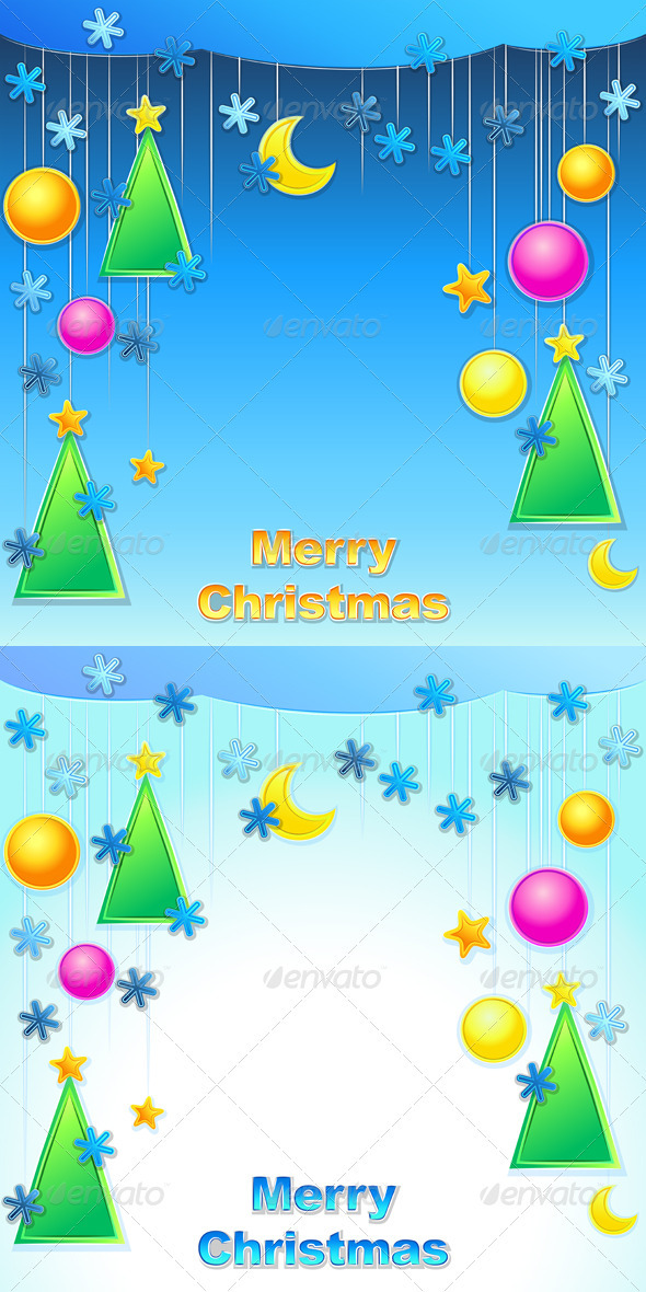 GraphicRiver Vector Christmas Background 3352721