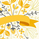 Florals And Ribbon - GraphicRiver Item for Sale