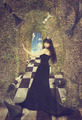 Young woman as black chess queen - PhotoDune Item for Sale