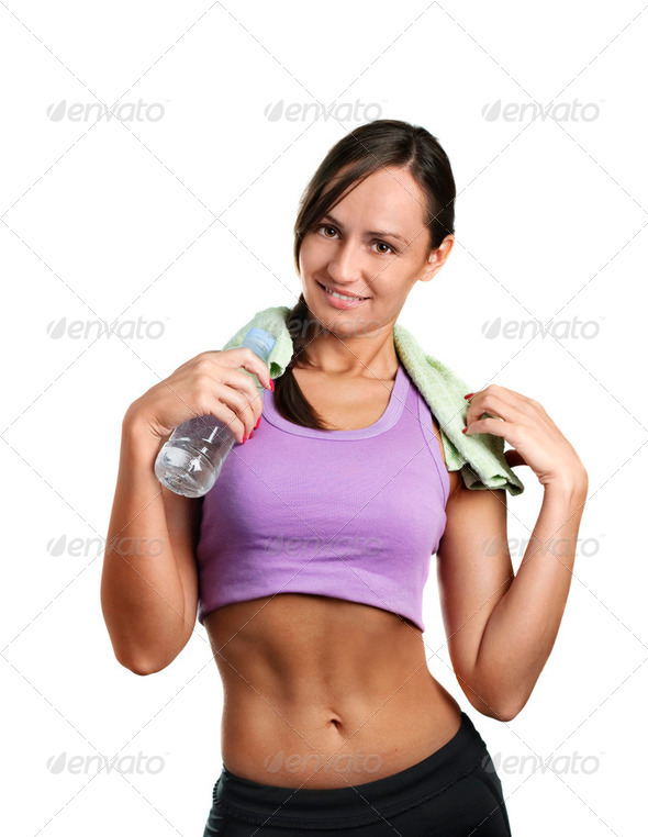 Fitness Woman - Stock Photo - Images