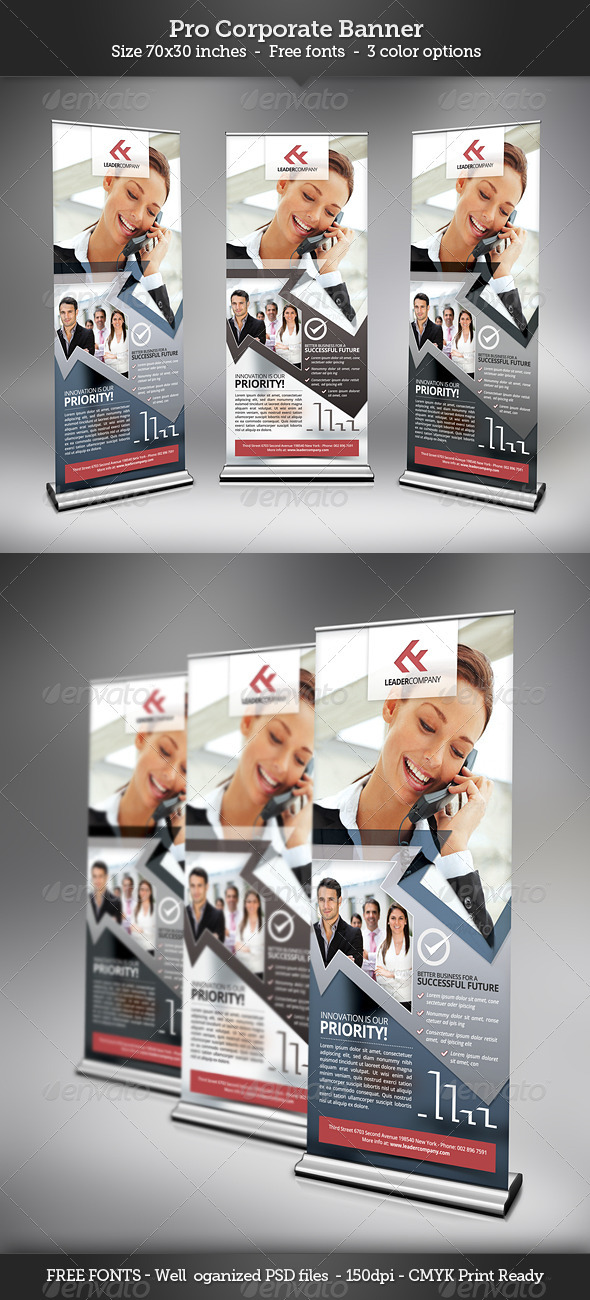 GraphicRiver Corporate Banner Template 3352957
