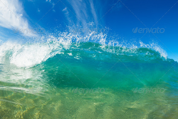 Ocean Wave - Stock Photo - Images