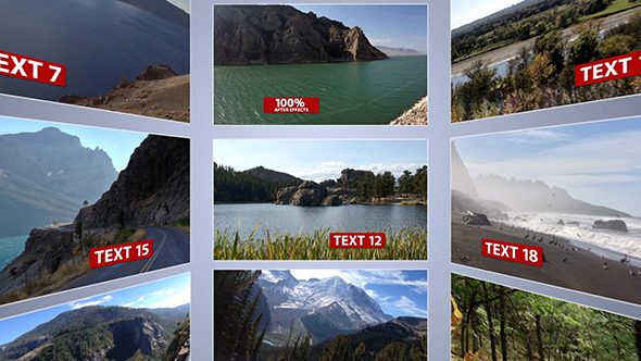 VideoHive Circular Video Wall 3352988