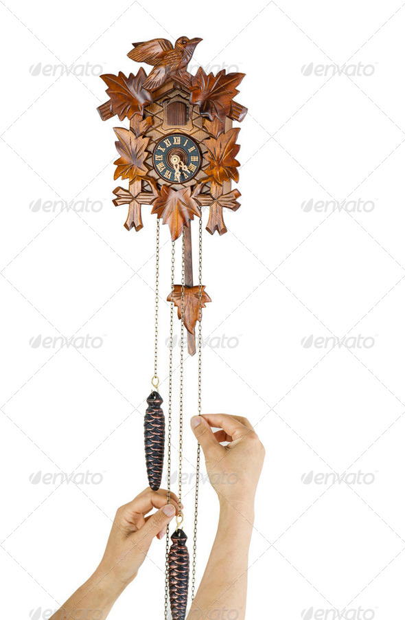 Adjusting Time - Stock Photo - Images