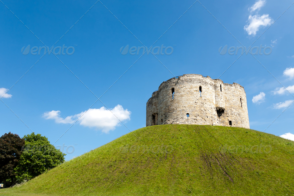 Cliffords Tower - Stock Photo - Images