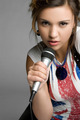 Microphone Singing Girl - PhotoDune Item for Sale