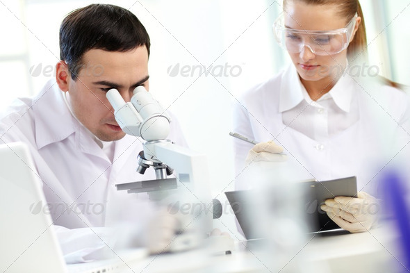 Research - Stock Photo - Images