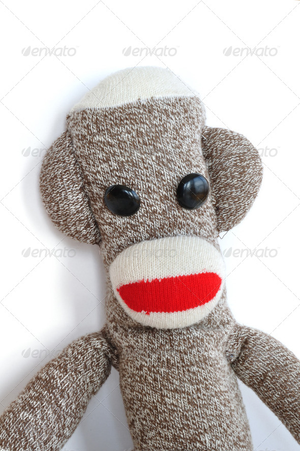 Sock Monkey - Stock Photo - Images