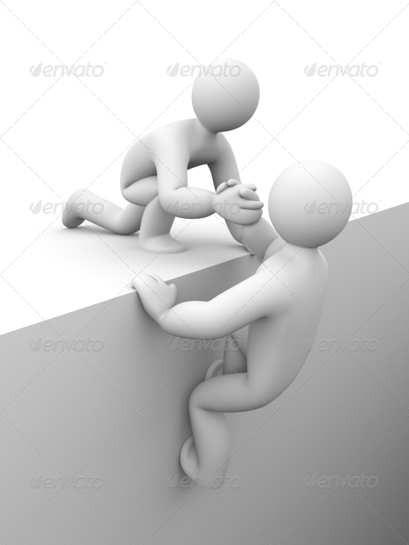 Helping hand - Stock Photo - Images