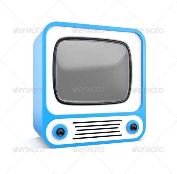 Stylish TV - Stock Photo - Images