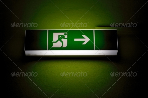 Emergency Exit - Stock Photo - Images