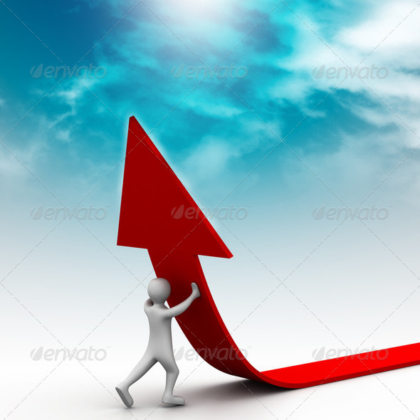 Right business growth solution - Stock Photo - Images