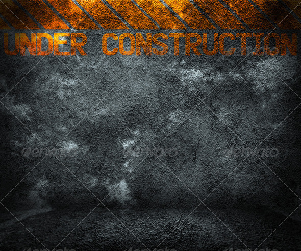 Under Construction Background - Stock Photo - Images
