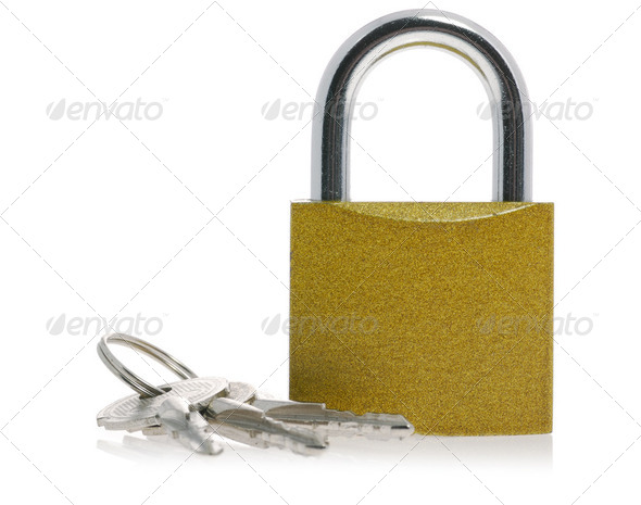 Lock and key - Stock Photo - Images