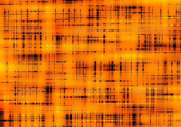 Orange retro pattern background - Stock Photo - Images