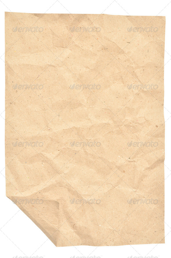 Vintage paper with space - Stock Photo - Images