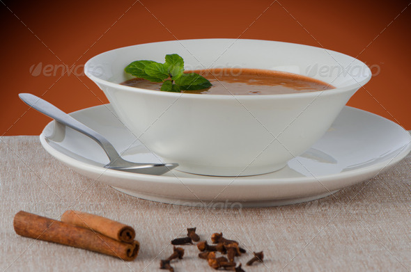 Chocolate mousse - Stock Photo - Images